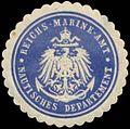 Siegelmarke Reichs-Marine-Amt Nautisches Departement W0364197.jpg