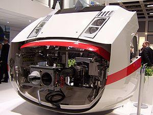 ICE 4 (Deutsche Bahn) - Voith ICx front end 'mockup', InnoTrans 2014
