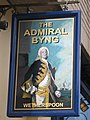 Sign for The Admiral Byng, Darkes Lane, Potters Bar - geograph.org.uk - 1403342.jpg