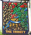 Sign for the Trinity, Bath - geograph.org.uk - 987032.jpg