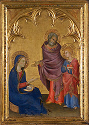 Simone Martini: Christ discovered in the temple