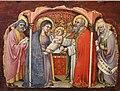 Simone dei crocifissi, sette episodi della vita di maria1396-98 ca, da polittico cospi in s. petronio 05.jpg