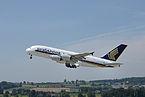 Singapore Airlines Airbus A380 9V-SKL@ZRH 26 07 2013 6.JPG