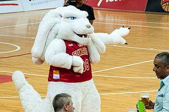 Singapore Slingers - The Merlion Mascot of the Singapore Slingers