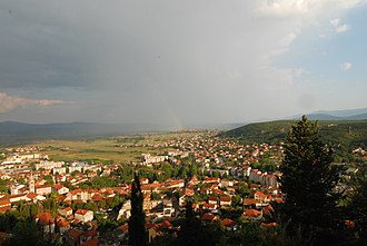 Sinj - View of Sinj