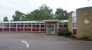 Sir Frederic Osborn School - Image: Sir Frederic Osborn School Entrance