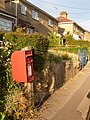 Sixpenny Handley, postbox No. SP5 157, Common Road - geograph.org.uk - 1369201.jpg