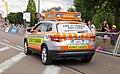 Skoda Kodiaq Safety vehicule Tour de France 2019 Chalon sur Saône (48270660052).jpg
