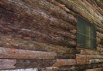 Slabsides - The wood slab siding that gave the cabin its name.