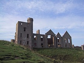 Slaines Castle, Cruden Bay - geograph.org.uk - 920316.jpg