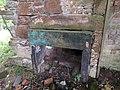 Slatehole Lodge, Auchinleck Estate, East Ayrshire - old fireplace.jpg