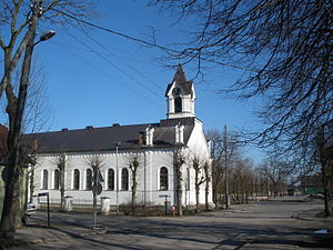 Sloka, Latvia - Sloka's church