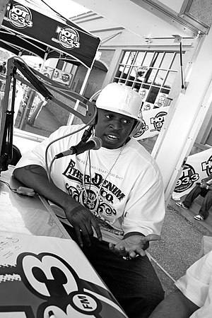Smitty - Smitty on Hot 93 in 2005
