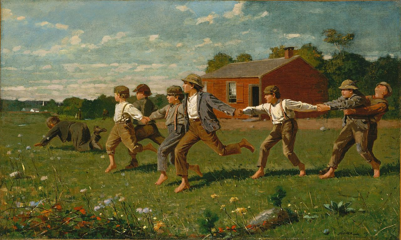Crack the Whip by Winslow Homer