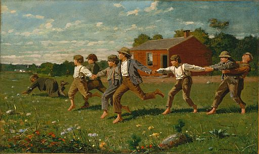 Snap the Whip 1872 Winslow Homer