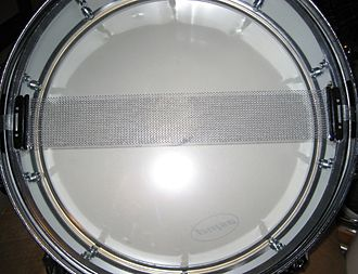 Snare drum - Snares on a drum