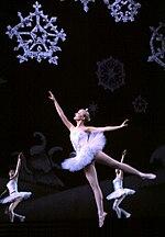 Una scena dal balletto Lo schiaccianoci.