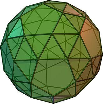 Solids with icosahedral symmetry - Snub dodecahedron (Cw)