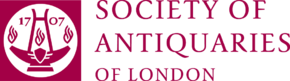 The official logo of the Society of Antiquaries of London (registered charity 207237).