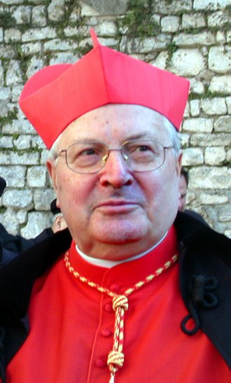 Dean of the College of Cardinals - Angelo Sodano, the current Dean of the College of Cardinals.
