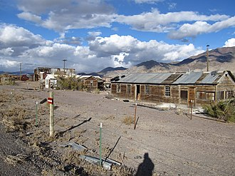 Mineral County, Nevada - Sodaville, a ghost town near Mina