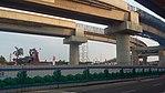 Soekarno-Hatta skytrain construction 3.jpg