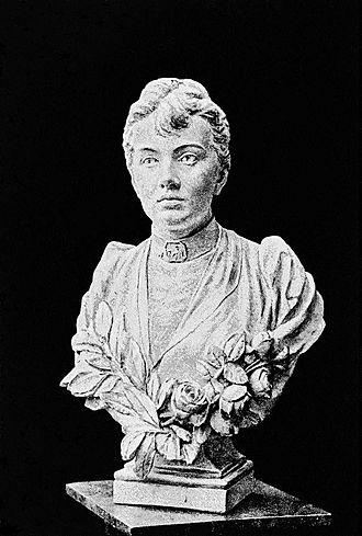 Sofia Kovalevskaya - Bust by Finnish sculptor Walter Runeberg