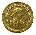 Solidus of Valentinian II (YORYM 1998 853) obverse.jpg