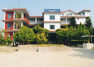 Sunwal - Frontal view of Somnath Baba Campus