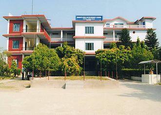 Sunwal - Frontal view of Somnath Baba Campus
