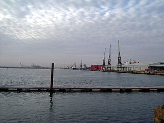 Hampshire - Southampton Docks