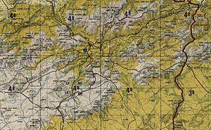 Souk Ahras - Image: Souk ahras topography
