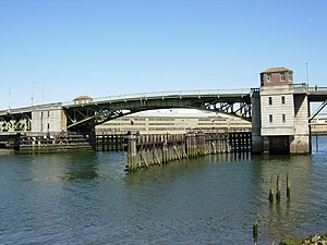 National Register of Historic Places listings in Seattle - Image: South Park Bridge in Seattle