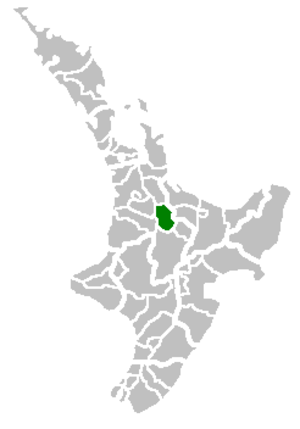 South Waikato District - Image: South Waikato Territorial Authority