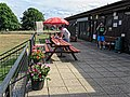 Southwater Cricket Club pavilion at Southwater, West Sussex, England 1.jpg