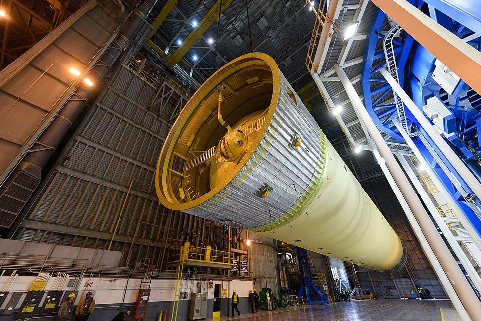 Space Launch System liquid hydrogen tank
