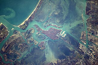 Venice viewed from the International Space Station Space Station Flight Over Venice.jpg
