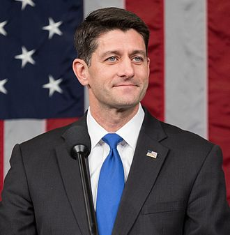Current members of the United States House of Representatives - Image: Speaker Paul Ryan official photo (cropped)