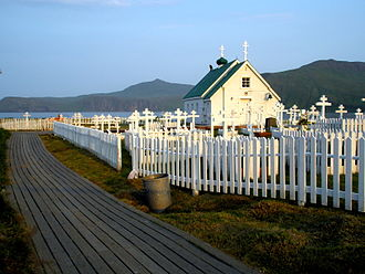National Register of Historic Places listings in Aleutians East Borough, Alaska - Image: St. Alexander Nevsky Chapel