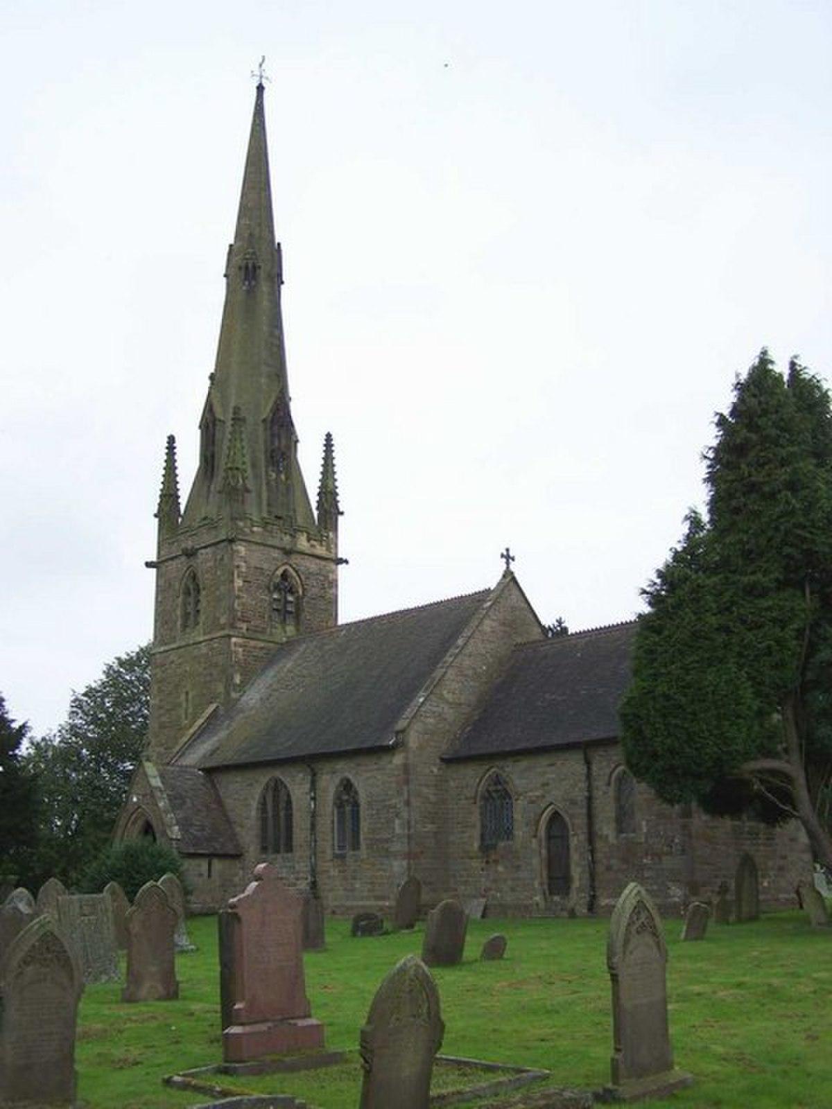 St. Bartholomew, Butterton - geograph.org.uk - 943867.jpg