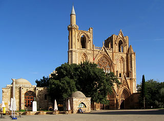 Lala Mustafa Pasha Mosque mosque in Northern Cyprus, former catholic cathedral