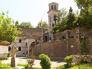 Metropolis of Ioannina Greek Orthodox diocese centred on the city of Ioannina