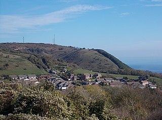 St Boniface Down Hill in the United Kingdom