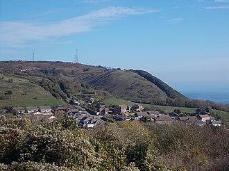 St Boniface Down - Image: St Boniface Down, Ventnor, Isle of Wight, UK