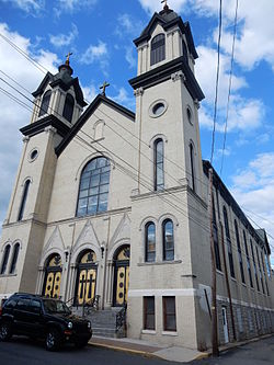 St. Casimir's Catholic Church in Shenandoah.