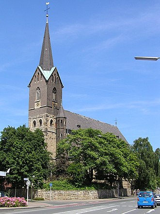 Marl, North Rhine-Westphalia - St George's Church, Marl