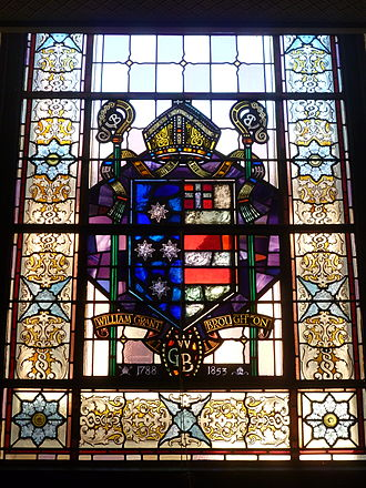 William Broughton (bishop) - The Broughton window in St James' Church, Sydney