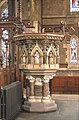 St Mark, Dalston, London E8 - Pulpit - geograph.org.uk - 1680087.jpg
