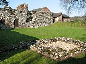 Henry Jerningham - Ruins of St Olave's Priory, granted to Sir Henry Jerningham in 1546