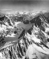 St Patrick's Glacier, aretes and mountain glaciers, August 25, 1965 (GLACIERS 6825).jpg